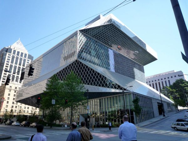 Seattle Public Library image by Bobak Ha'Eri (CC BY 3.0)