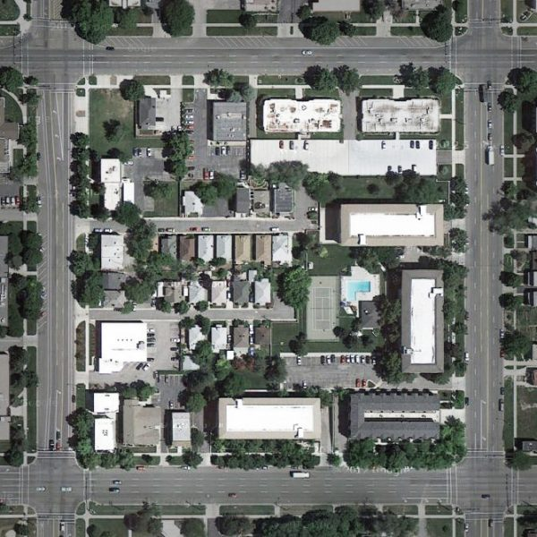 Salt Lake City block interior via The Great American Grid