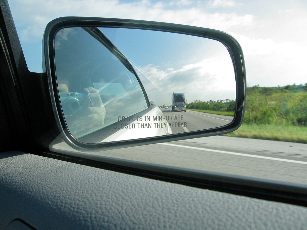 Side Mirror From An  S Car