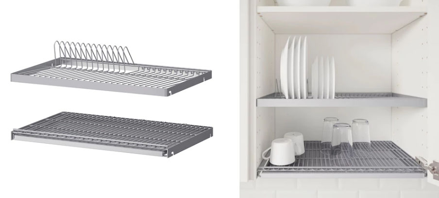 Superbe UTRUSTA Dish Drying Cabinet Racks From IKEA (may Not Be Available In All  Countries)