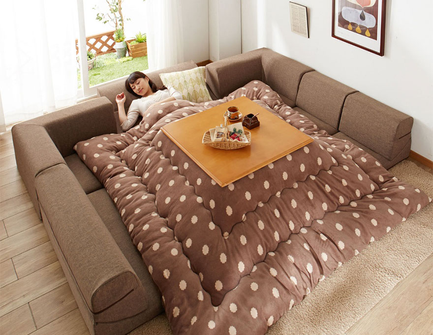 Kotatsu Tables Cozy Mobile Hearths Solve E Heating In Anese Homes
