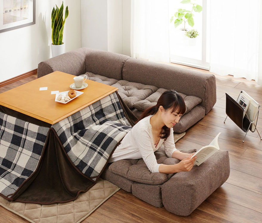 Kotatsu Tables Cozy Mobile Hearths Solve Space Heating In