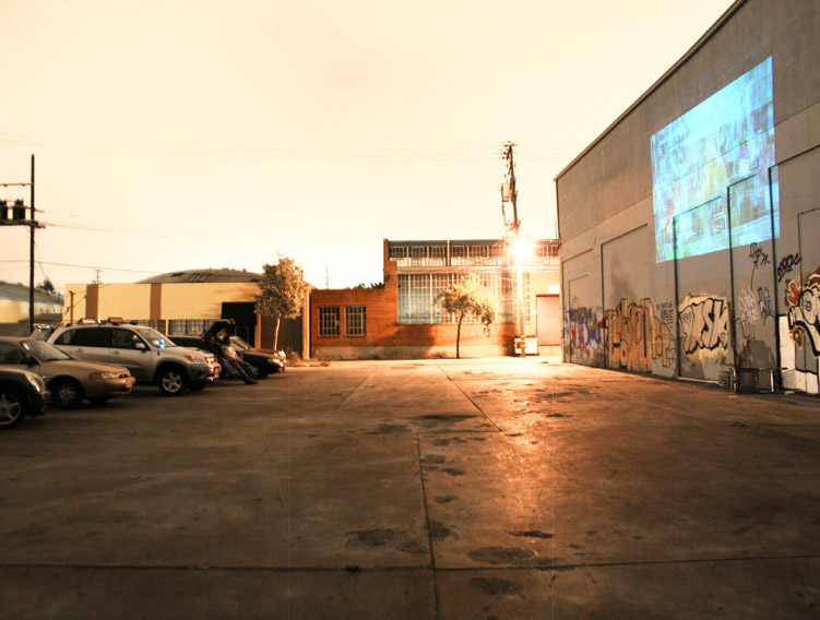 Guerrilla Drive Ins Mobile Urban Movie Theaters Animate Disused Spaces