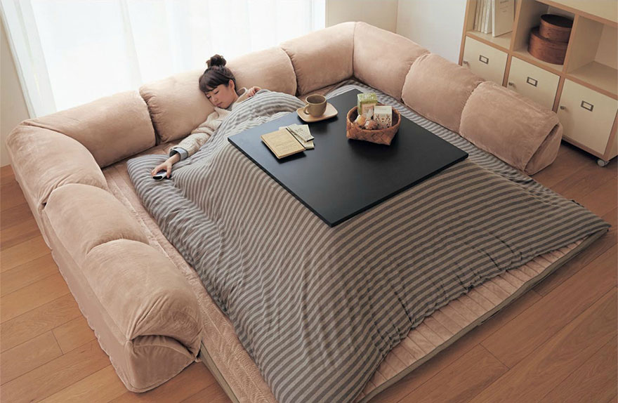 Kotatsu Tables Cozy Mobile Hearths Solve E Heating In Anese Homes 99 Invisible