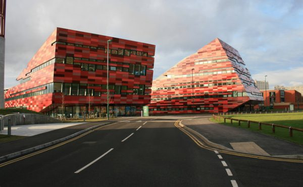 Amenities Building And International House Of The University Nottingham Jubilee Campus A Perfect Example Digital Architecture
