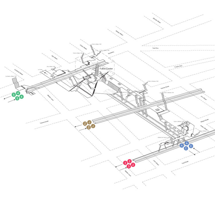 Subway Map Nyc 2014.From Guerrilla Signs To 3d Maps Clever Wayfinding For The Nyc