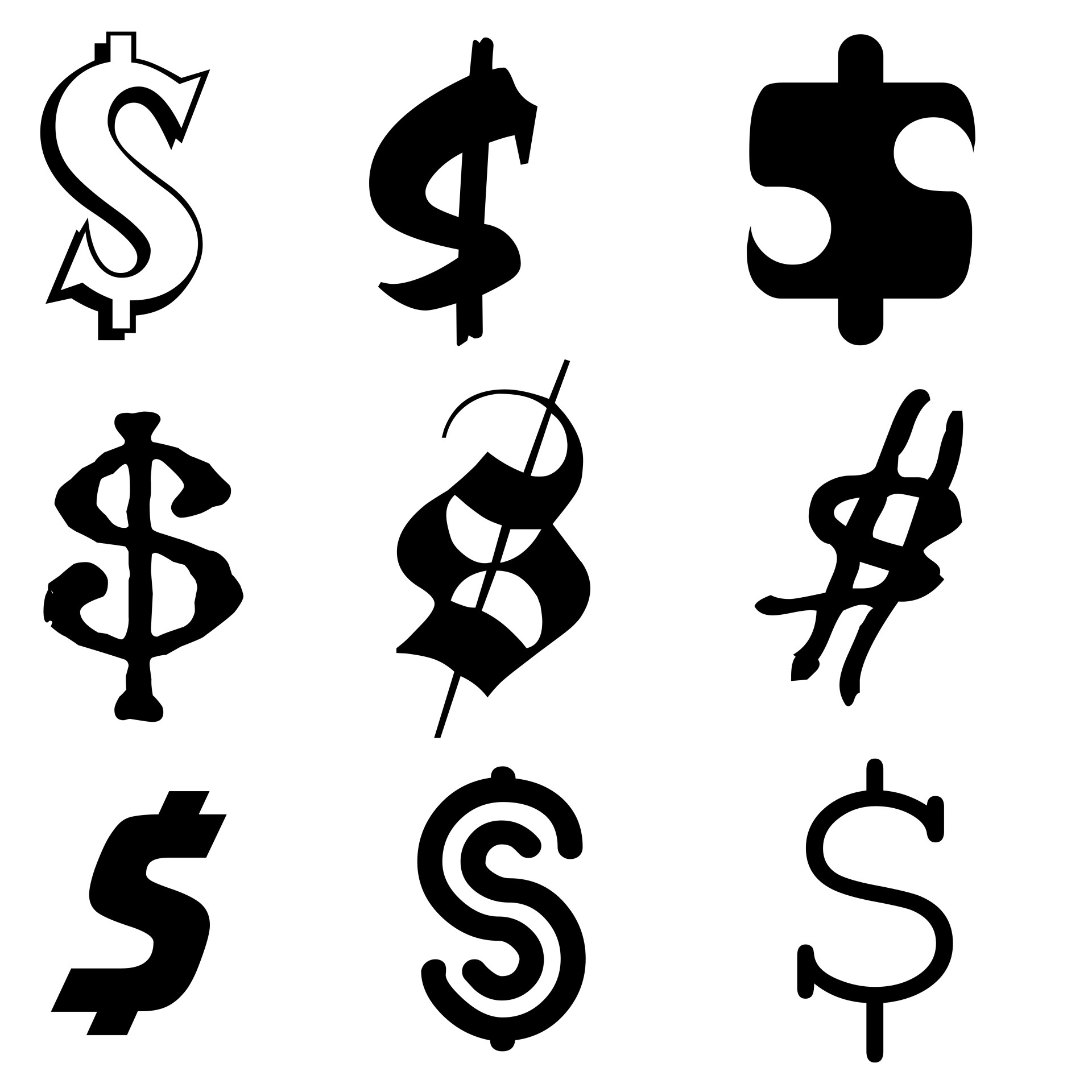 Monetary Design Mystery The Nebulous Origins Of America S Iconic Dollar Sign