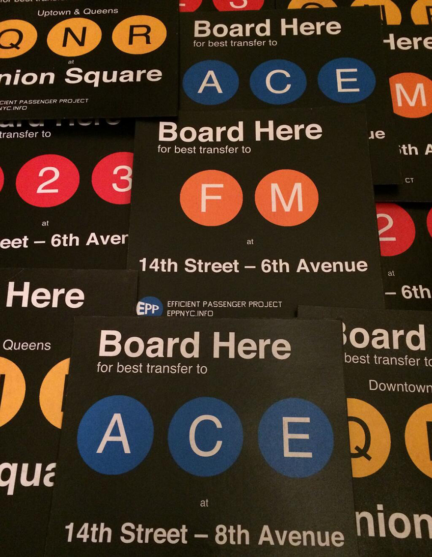 Nyc Subway Map Station Exits.From Guerrilla Signs To 3d Maps Clever Wayfinding For The Nyc