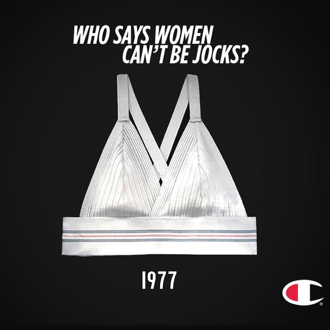 a1e8a690f8 The first sports bra was two jock straps stitched together by Lisa Lindahl  and Polly Smith