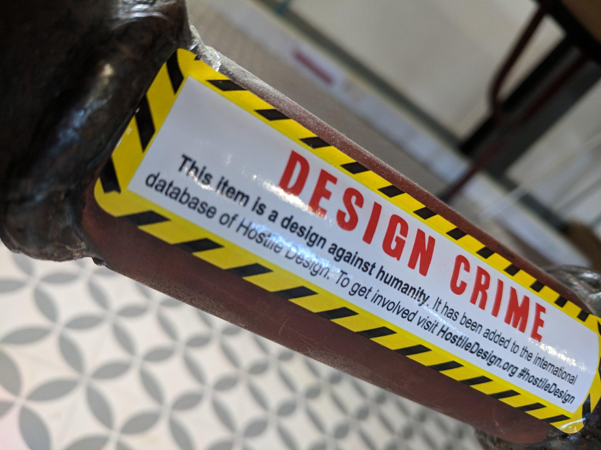 Hostile Architecture Design Crimes Campaign Gets Bars