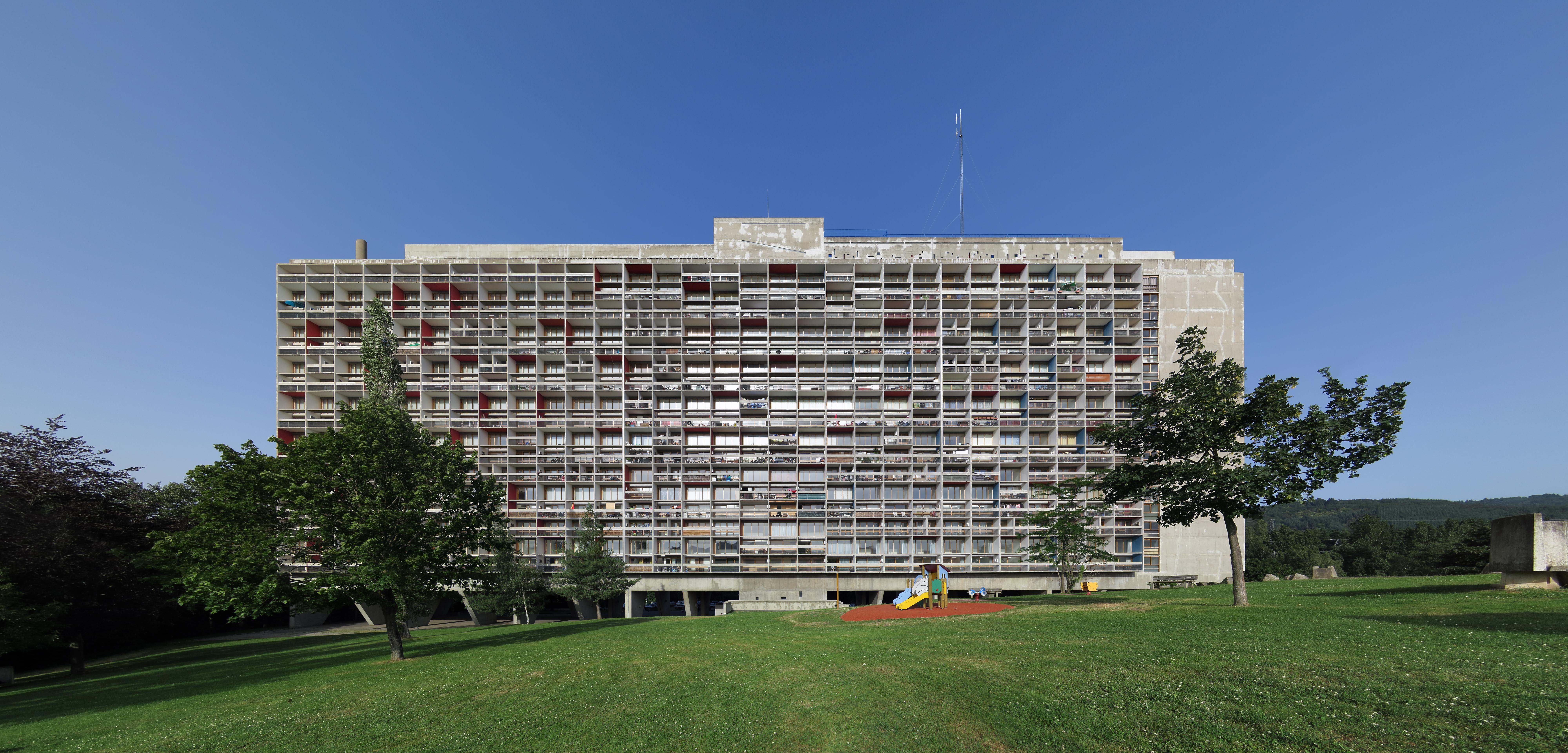 Le Corbusier Unite D Habitation unité d'habitation: le corbusier's proto-brutalist urban sky