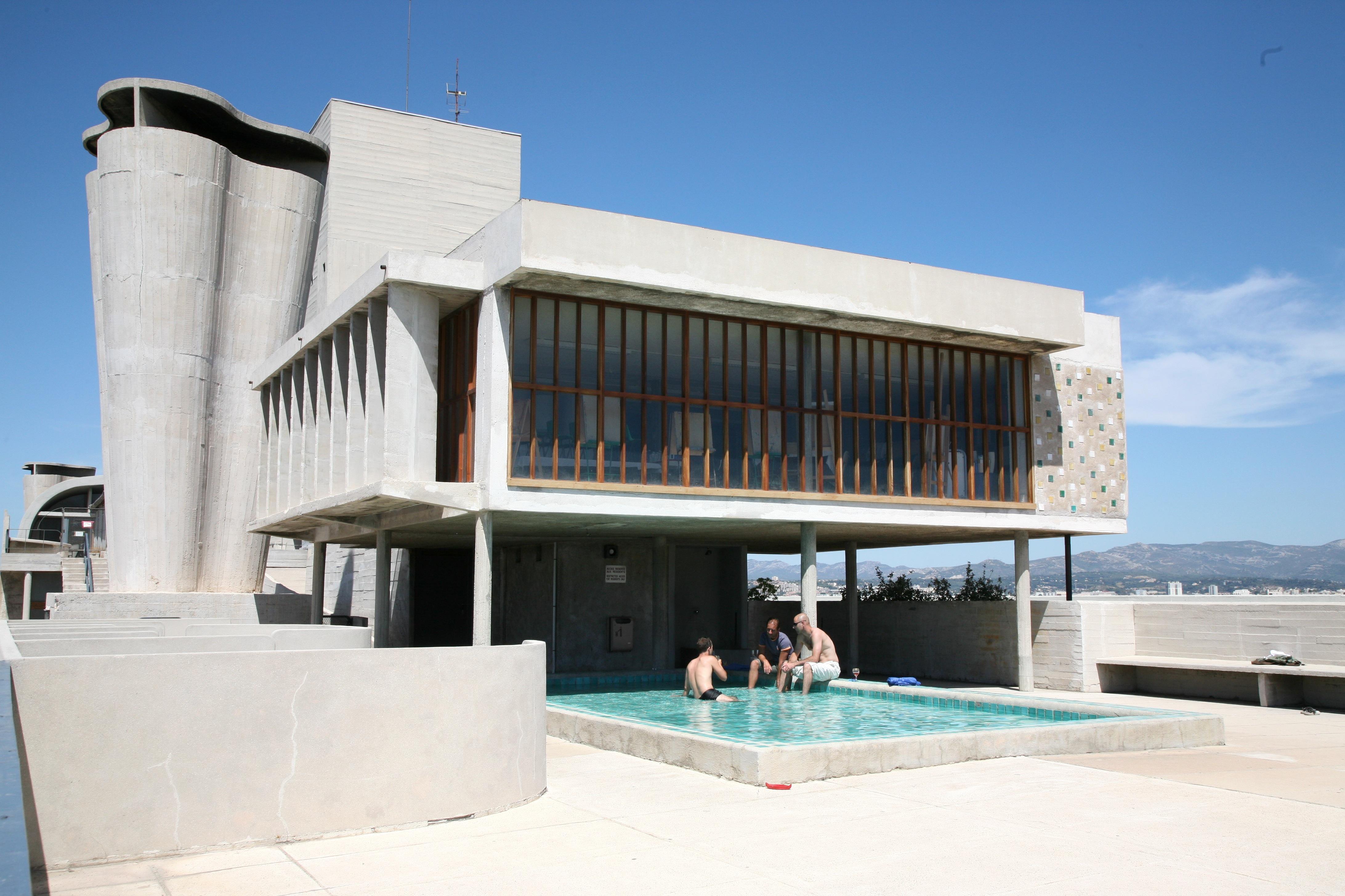 Unit 233 D Habitation Le Corbusier S Proto Brutalist Urban