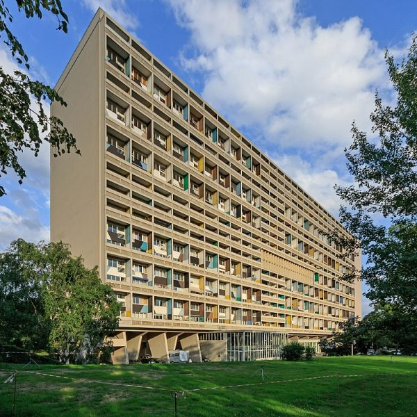 unit d 39 habitation le corbusier 39 s proto brutalist urban sky villages 99 invisible. Black Bedroom Furniture Sets. Home Design Ideas