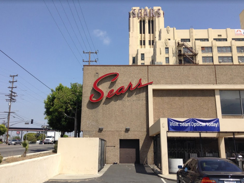 ghost plants reusing huge abandoned sears buildings across urban