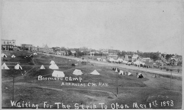 far and away oklahoma land rush