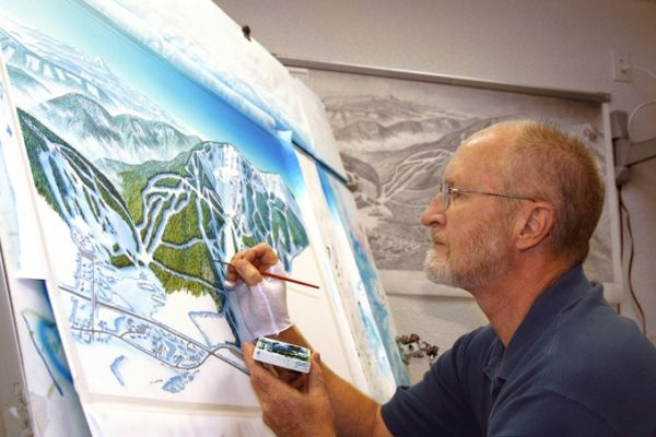 Flattening Mountains: The Complex & Creative Art of Ski Area Cartography [ARTICLE]