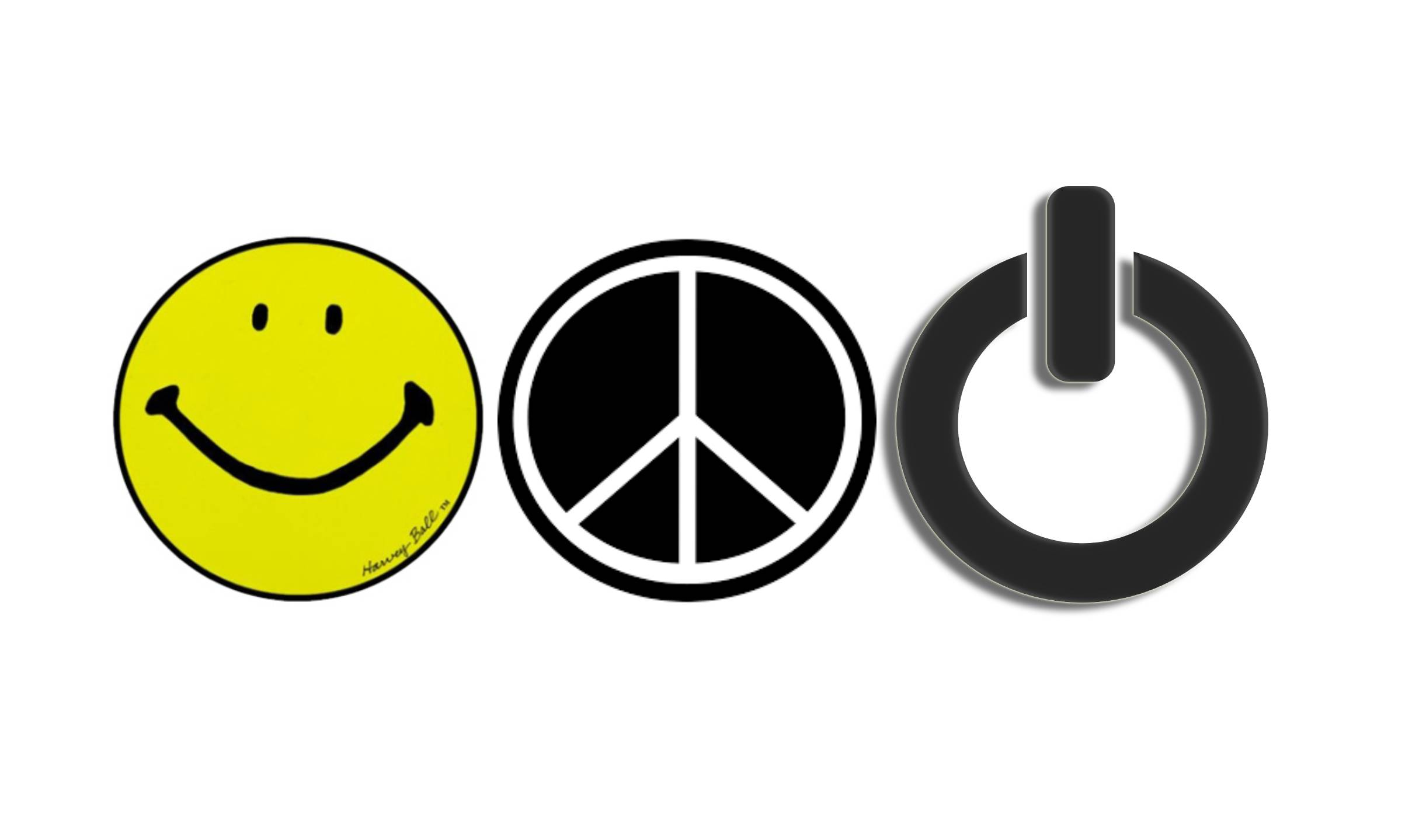 Smiley Smile Dead Happy Black Yellow Face Home Button Stickers Fit Apple iPhone