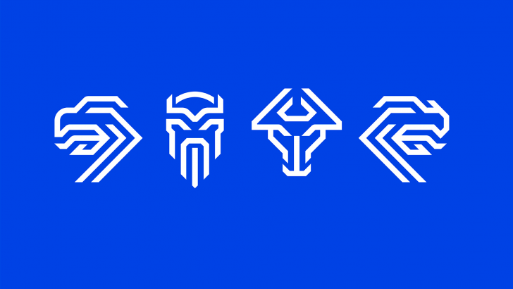 Guardian Spirits: Modular New Icelandic Team Logo Draws on History & Heraldry - 99% Invisible