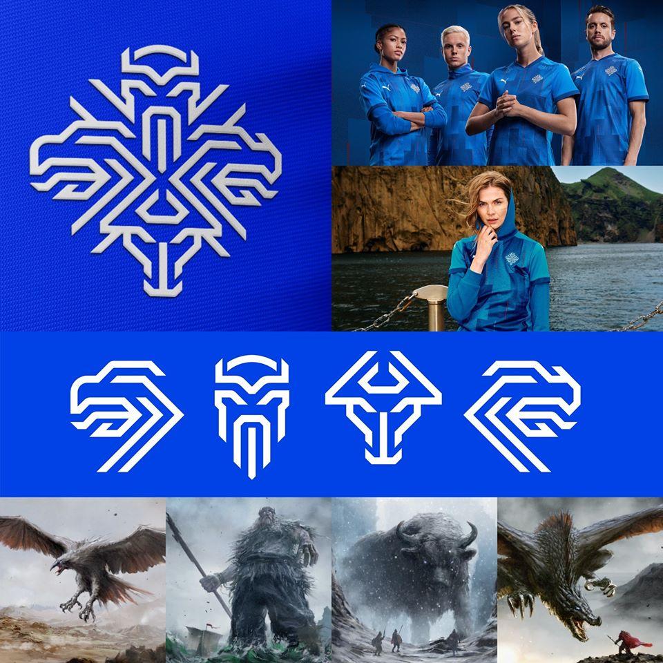 Guardian Spirits: Modular New Icelandic Team Logo Draws On